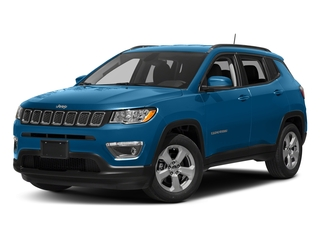 Laser Blue Pearlcoat 2017 Jeep Compass Pictures Compass Latitude FWD photos front view