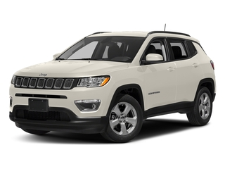 White Clearcoat 2017 Jeep Compass Pictures Compass Sport 4x4 photos front view