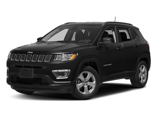 Diamond Black Crystal Pearlcoat 2017 Jeep Compass Pictures Compass Latitude FWD photos front view