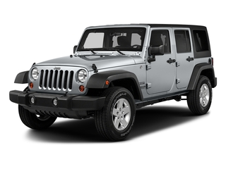 Billet Silver Metallic Clearcoat 2017 Jeep Wrangler Unlimited Pictures Wrangler Unlimited Utility 4D Unlimited Sport 4WD V6 photos front view