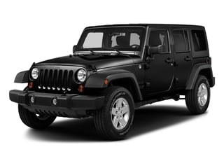 Black Clearcoat 2017 Jeep Wrangler Unlimited Pictures Wrangler Unlimited Freedom 4x4 *Ltd Avail* photos front view