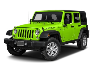 Hypergreen Clearcoat 2017 Jeep Wrangler Unlimited Pictures Wrangler Unlimited Utility 4D Unlimited Rubicon 4WD V6 photos front view