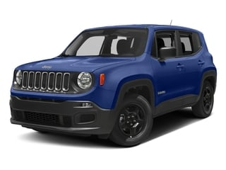 Jetset Blue 2017 Jeep Renegade Pictures Renegade Sport 4x4 photos front view