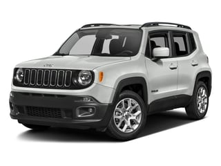 Alpine White 2017 Jeep Renegade Pictures Renegade Utility 4D Altitude 2WD photos front view
