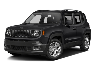 Black 2017 Jeep Renegade Pictures Renegade Altitude FWD photos front view