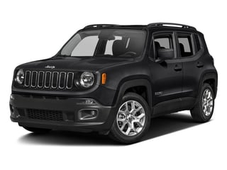 Black 2017 Jeep Renegade Pictures Renegade Utility 4D Altitude 2WD photos front view