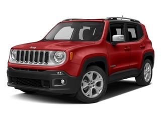 Colorado Red 2017 Jeep Renegade Pictures Renegade Utility 4D Limited 2WD photos front view