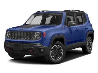 Jetset Blue 2017 Jeep Renegade Pictures Renegade Utility 4D Trailhawk AWD photos front view