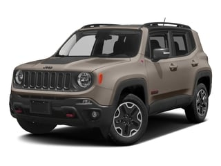 Mojave Sand 2017 Jeep Renegade Pictures Renegade Utility 4D Deserthawk 4WD photos front view