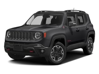 Black 2017 Jeep Renegade Pictures Renegade Utility 4D Trailhawk AWD photos front view