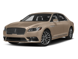 Palladium White Gold Metallic 2017 Lincoln Continental Pictures Continental Sedan 4D Livery photos front view