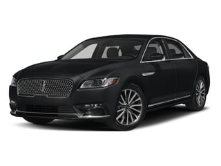 Diamond Black 2017 Lincoln Continental Pictures Continental Sedan 4D Black Label AWD V6 Turbo photos front view