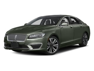 Jade Green Metallic 2017 Lincoln MKZ Pictures MKZ Sedan 4D Select AWD I4 photos front view