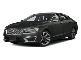 Magnetic Gray Metallic 2017 Lincoln MKZ Pictures MKZ Sedan 4D Select AWD I4 photos front view