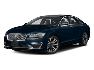 Midnight Sapphire Blue Metallic 2017 Lincoln MKZ Pictures MKZ Sedan 4D Select AWD I4 photos front view