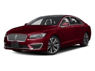 Ruby Red Metallic Tinted Clearcoat 2017 Lincoln MKZ Pictures MKZ Sedan 4D Select AWD I4 photos front view