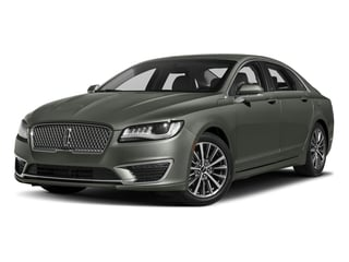 Jade Green Metallic 2017 Lincoln MKZ Pictures MKZ Sedan 4D Select I4 Hybrid photos front view