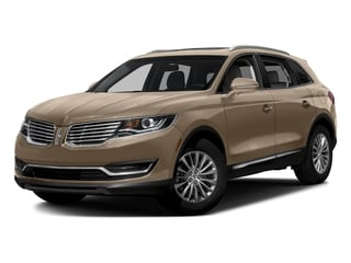 Palladium White Gold Metallic 2017 Lincoln MKX Pictures MKX Util 4D Reserve EcoBoost 2WD V6 photos front view