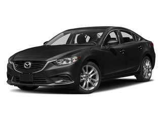 Jet Black Mica 2017 Mazda Mazda6 Pictures Mazda6 Sedan 4D Touring I4 photos front view
