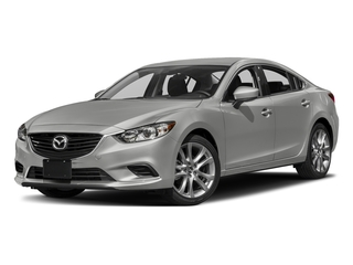 Sonic Silver Metallic 2017 Mazda Mazda6 Pictures Mazda6 Sedan 4D Touring I4 photos front view