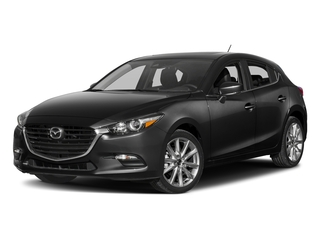 Jet Black Mica 2017 Mazda Mazda3 5-Door Pictures Mazda3 5-Door Wagon 5D Touring 2.5L I4 photos front view