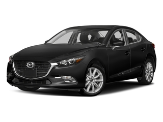 Jet Black Mica 2017 Mazda Mazda3 4-Door Pictures Mazda3 4-Door Sedan 4D Grand Touring photos front view