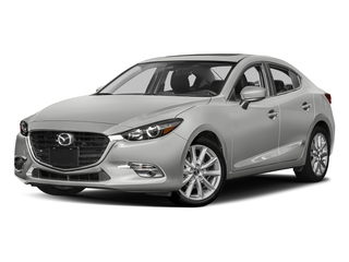 Sonic Silver Metallic 2017 Mazda Mazda3 4-Door Pictures Mazda3 4-Door Sedan 4D Grand Touring photos front view
