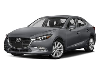 Machine Gray Metallic 2017 Mazda Mazda3 4-Door Pictures Mazda3 4-Door Sedan 4D Grand Touring photos front view