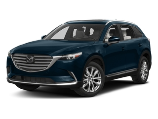 Deep Crystal Blue Mica 2017 Mazda CX-9 Pictures CX-9 Grand Touring AWD photos front view