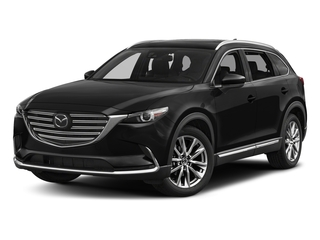 Jet Black Mica 2017 Mazda CX-9 Pictures CX-9 Utility 4D Signature AWD I4 photos front view