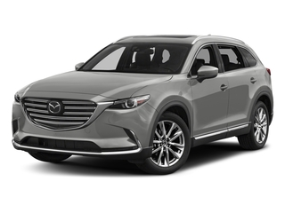 Sonic Silver Metallic 2017 Mazda CX-9 Pictures CX-9 Utility 4D Signature AWD I4 photos front view