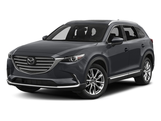 Machine Gray Metallic 2017 Mazda CX-9 Pictures CX-9 Utility 4D Signature AWD I4 photos front view
