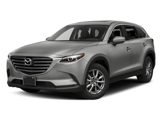 Sonic Silver Metallic 2017 Mazda CX-9 Pictures CX-9 Utility 4D Touring 2WD I4 photos front view