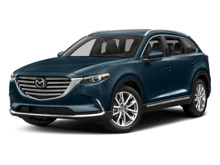 Deep Crystal Blue Mica 2017 Mazda CX-9 Pictures CX-9 Utility 4D GT 2WD I4 photos front view