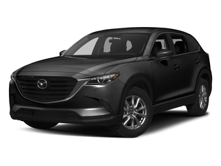 Jet Black Mica 2017 Mazda CX-9 Pictures CX-9 Utility 4D Sport AWD I4 photos front view