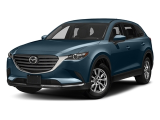 Deep Crystal Blue Mica 2017 Mazda CX-9 Pictures CX-9 Touring AWD photos front view