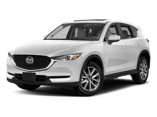 Snowflake White Pearl Mica 2017 Mazda CX-5 Pictures CX-5 Grand Touring FWD photos front view