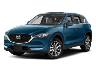 Eternal Blue Mica 2017 Mazda CX-5 Pictures CX-5 Grand Touring FWD photos front view
