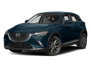 Deep Crystal Blue Mica 2017 Mazda CX-3 Pictures CX-3 Utility 4D GT AWD I4 photos front view