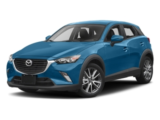 Dynamic Blue Mica 2017 Mazda CX-3 Pictures CX-3 Touring FWD photos front view