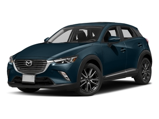 Deep Crystal Blue Mica 2017 Mazda CX-3 Pictures CX-3 Utility 4D GT 2WD I4 photos front view