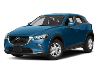 Dynamic Blue Mica 2017 Mazda CX-3 Pictures CX-3 Utility 4D Sport 2WD I4 photos front view