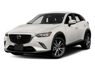 Crystal White Pearl Mica 2017 Mazda CX-3 Pictures CX-3 Touring AWD photos front view