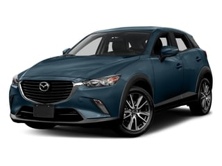 Deep Crystal Blue Mica 2017 Mazda CX-3 Pictures CX-3 Touring AWD photos front view