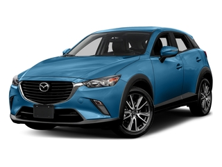 Dynamic Blue Mica 2017 Mazda CX-3 Pictures CX-3 Touring AWD photos front view