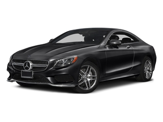 Black 2017 Mercedes-Benz S-Class Pictures S-Class Coupe 2D S550 AWD V8 Turbo photos front view