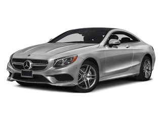 designo Magno Alanite Grey (Matte Finish) 2017 Mercedes-Benz S-Class Pictures S-Class S 550 4MATIC Coupe photos front view