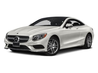 designo Magno Cashmere White (Matte Finish) 2017 Mercedes-Benz S-Class Pictures S-Class S 550 4MATIC Coupe photos front view