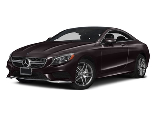 Ruby Black Metallic 2017 Mercedes-Benz S-Class Pictures S-Class Coupe 2D S550 AWD V8 Turbo photos front view