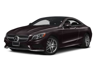 Ruby Black Metallic 2017 Mercedes-Benz S-Class Pictures S-Class S 550 4MATIC Coupe photos front view